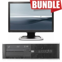 "BUNDLE PC HP Elite 8200 + MONITOR HP 22"" LCD WIDE"
